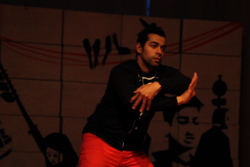 Houssine Khald - hip-hop dance - performance 25.06.2013