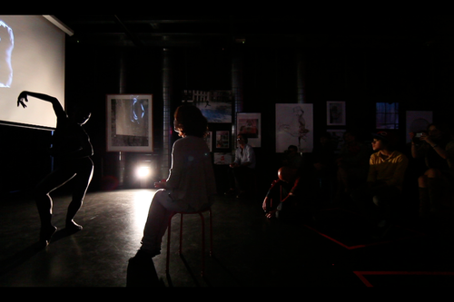 Fernanda Diniz - contemporary dance - performance 26.06.13
